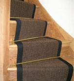 Chocolate Sisal Stair Runner